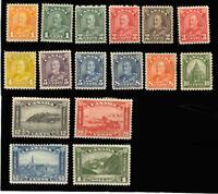 Canada 162-177, Mint VF LH Set -  Unitrade $864.00 - Stuart Katz