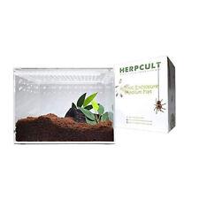 Herpcult Acrylic Reptile Terrarium Enclosure Tank 8x6x6 New in Box