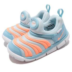 Nike Dynamo Free TD Topaz Mist Orange Pulse Toddler Infant Baby Shoes 343938-429