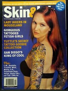Skin & Ink The Tattoo Magazine Issue October 2004