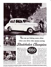 Vintage ad 1940 Studebaker Champion Great ad Check out the price!