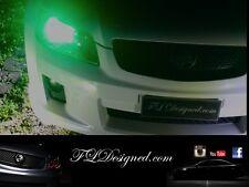 Holden Ve Green L.E.D Parker Light Bulbs Hsv Maloo clubsport gts r8 ss sv6 ssv