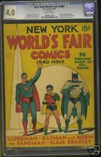 New York Worlds Fair,May 1940, CGC-4.0