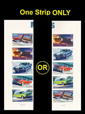US 4747b Muscle Cars imperf NDC plate vert strip set MNH 2013