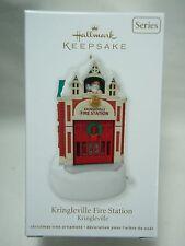 2012 Hallmark Keepsake Ornament Kringleville Fire Station Kringleville #3
