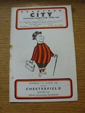 31/08/1968 Bradford City v Chesterfield  (Rusty Staple/Mark). Item In very good