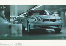 Jaguar X Type Postkarte Ansichtskarte 2001 picture post card Nr 3 Auto PKWs cars