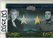 DONRUSS AMERICANA CO STARS MARILYN MONROE & TONY CURTIS