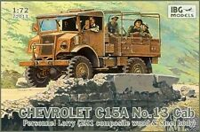 CHEVROLET C15A N13 CAB 2H1 (BRITISH/CANADIAN & AFRIKA KORPS MKGS)#72013 1/72 IBG