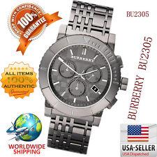 100% Authentic Burberry Men'sTrench Chronograph Black Dial Men's Watch BU2305
