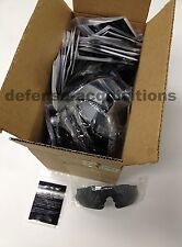 CASE OF 50 - NEW ESS ICE Replacement Lens Smoke Gray With No Fog Cloth 740-011