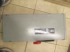 General Electric Safety Switch TH3223R 100 amp model 10 240 volt