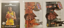 Kevin Durant Topps and Upper deck basketball heros rookie lot