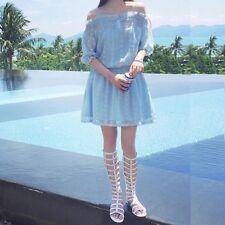 Women's Doll dress-Baby Blue -Size XS/S