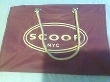 Scoop NYC Vinyl Shopping Tote New Purple