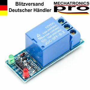 12V/230V 1-Kanal Relais Modul für Arduino Raspberry
