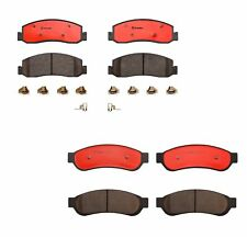 Brembo Front & Rear Ceramic Brake Pads Kit For Ford F-250 F-350 F-450 Super Duty