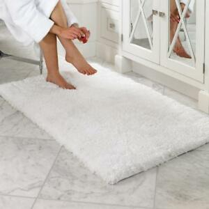Super Soft Microfiber Non-slip Antibacterial Rubber Luxury Bath Mat Rug