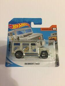 Hot Wheels HW Armored Truck, HW Metro 2020 Short Card 4/10 Brand New
