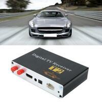 Kit Sintonizzatore Ricevitore TV per auto DVB-T2 PVR USB con 2 antnenna durevole