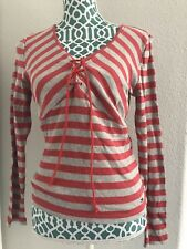 TOMMY HILFIGER TOMMy JEANS  Th COLORS STRIPED Top SIZE-Large