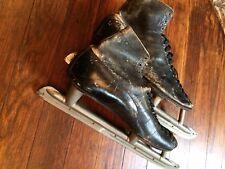 Vintage Dunne's Premier Speed Skates ca 1910s made in Canada, Davega Mens Size 7
