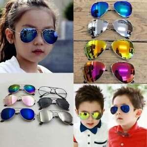Kids Sunglasses Children Shades UV400 Vintage Fashion Classic Glasses Boys Girls
