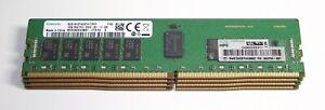 64gb kit 4 x 16gb PC4-2666V ECC Reg Server RAM - Genuine HP 840756-091 - UK -