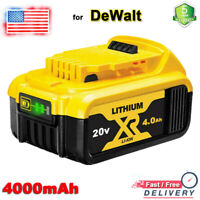 For DeWalt 20 Volt Max XR Lithium Ion 20V 4.0AH Battery DCB206-2 DCB205-2 DCB204