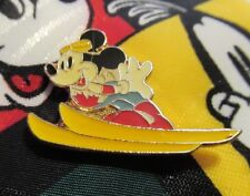 Mickey Mouse Disney Tie Balancine Hot Cakes With Skiing Mickey Mouse Pin