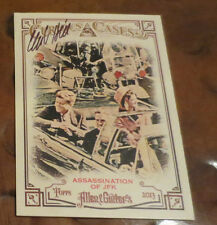 Clint Hill Secret Service Kennedy detail signed autographed card zapruder film