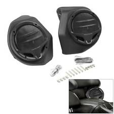 "Black 6.5"" King Pack Trunk Rear Speakers For Harley Tour Pak Touring 2014-2020"