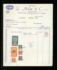 LETTERE COMMERCIALI G. MALETTI & C. OFFICNA SCANDIANO 1963