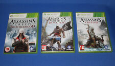 Assassin`s Creed Brotherhood , III ,IV Black Flag    Xbox 360