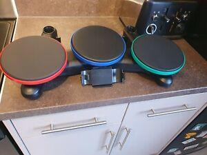 Wireless Guitar Hero Band Hero Drums  PS3 PlayStation 3 Drums No Symbols Or PSU