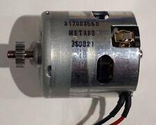 Motor Metabo BS 14,4 SB 14,4  LT Impuls  Orginal  Gleichstrommotor 317003660