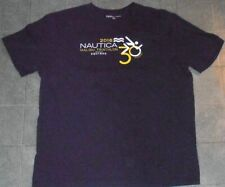 Malibu Nautica Equinox Triathlon 2016 running swimming cycling navy blu shirt Xl