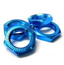 N10171 1/8 RC Buggy M17 17mm Alloy Wheel Nuts Only Nut Light Blue x 4