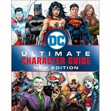 DK Hardcover NEW * 2019 DC Comics Ultimate Character Guide * Graphic Comics Book