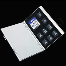 Metal Aluminum Micro SD TF MMC Memory Card Storage Box Protecter Case Holder HOT