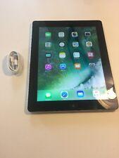 Apple iPad 4th Generation 16GB Wi-Fi, 9.7in Black Silver Great Bundle (GRADE A)