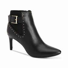 Calvin Klein Jozie Pointed Toe Ankle BOOTIES 556 Black 7 US / 37 EU