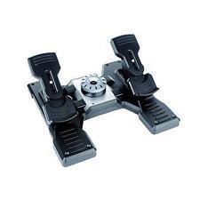 Logitech Saitek pro Flight Rudder Pedals Pedale
