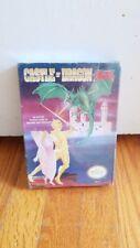 Castle of Dragon (Nintendo Entertainment System, 1990) NEVER OPENED, IN PLASTICS