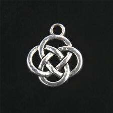 Free Shipping  Tibetan Silver celtic Charms For Jewelry Making 15*15mm 15Pcs