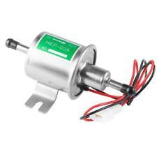 Universal Metal Solid Gasoline Petrol 12V Inline Vehicle Electric Fuel Pump W6D7