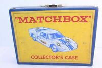 Vintage 1966 Matchbox Lesney Products Car Collectors Carrying Case