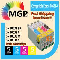 20X T0631 T0632 T0633 T0634 Ink Cartridge For Epson Stylus CX3700 CX4700 CX5700F