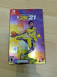NBA 2K21 Mamba Forever Edition (Nintendo Switch) New Factory Sealed