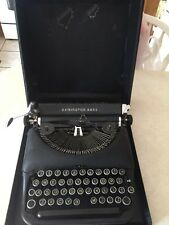 Vintage Remington Rand Deluxe Model 5 Typewriter & Original Case Parts Only